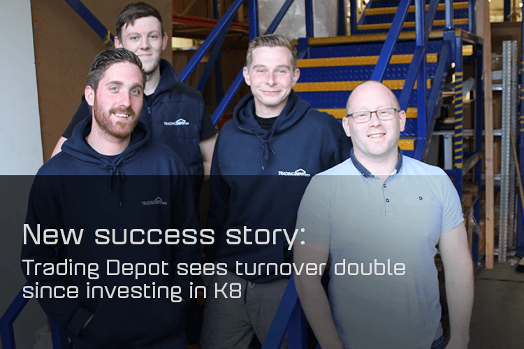 Trading Depot sees turnover double since investing in K8