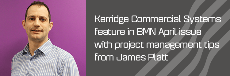 Kerridge Commercial Systems feature in BMN