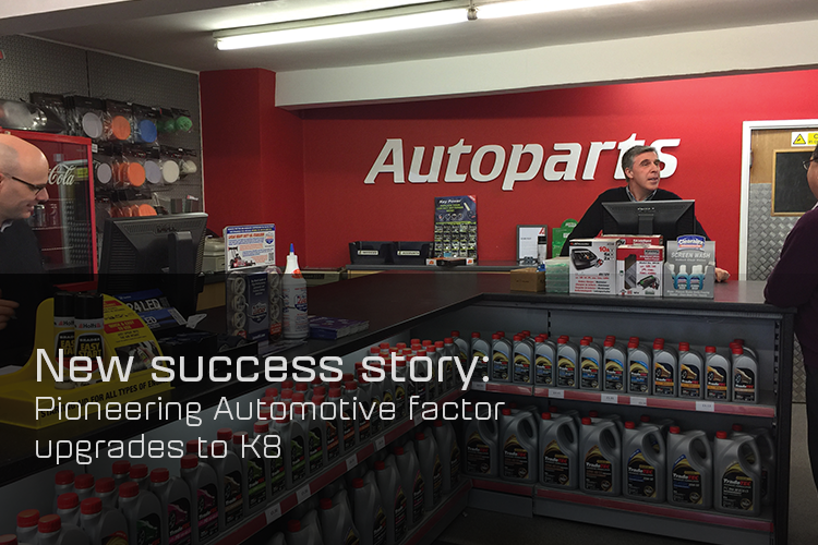 Autoparts (South Wales) Ltd upgrades to K8