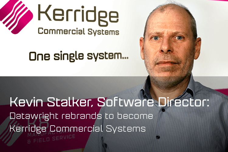 Datawright rebrands to become Kerridge Commercial Systems